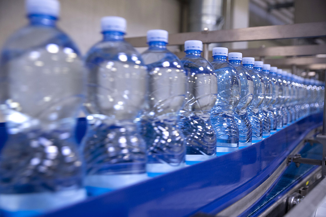 Warehouse manufacture drinking water